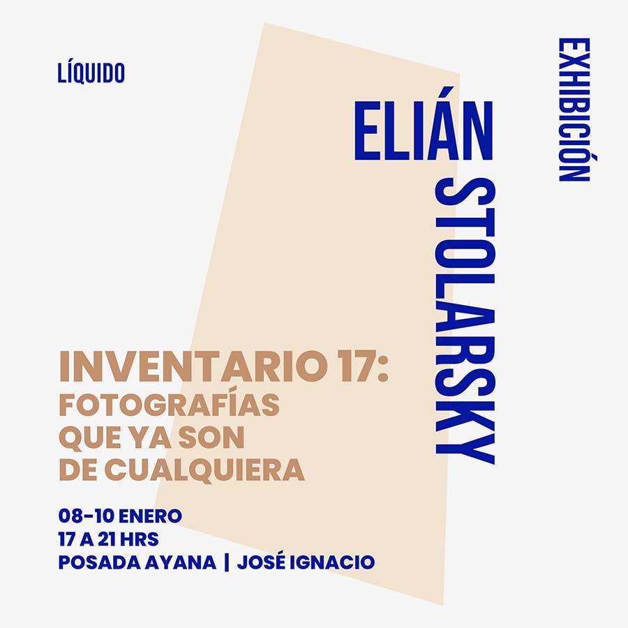 INVENTARIO 17: Fotografías que ya son de cualquiera - Galería LÍQUIDO