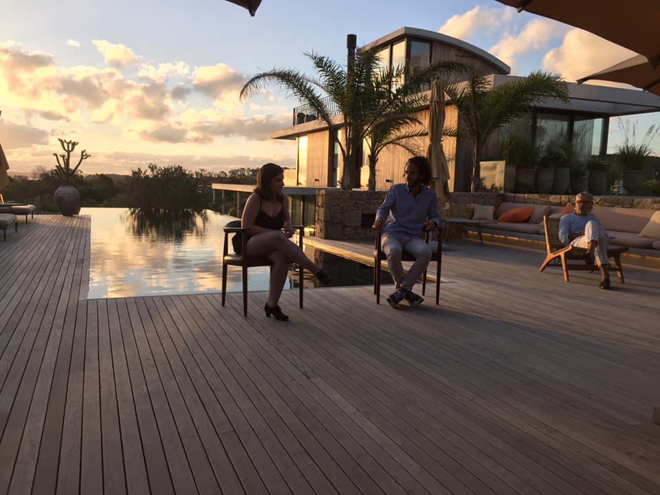 Elián Stolarsky en Líquido con Valentín Benoit Posada Ayana de José Ignacio- enero 2021 foto daniel benoit
