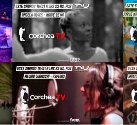 Llega Corchea TV, con toda la música uruguaya