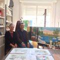Visita al taller de Yvonne D'Acosta por Daniel Benoit Cassou