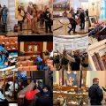 Imagen portada: Colage de imágenes viralizadas en internet -La toma del Capitolio de Estados Unidos