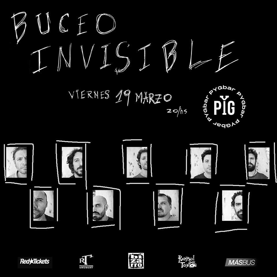 BUCEO INVISIBLE en PYG - 19 marzo