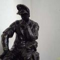 hombre-pensando---estatuilla-en-castillo-de-Piria---piriapolis----maldonado---uruguay-foto-federico-meneses