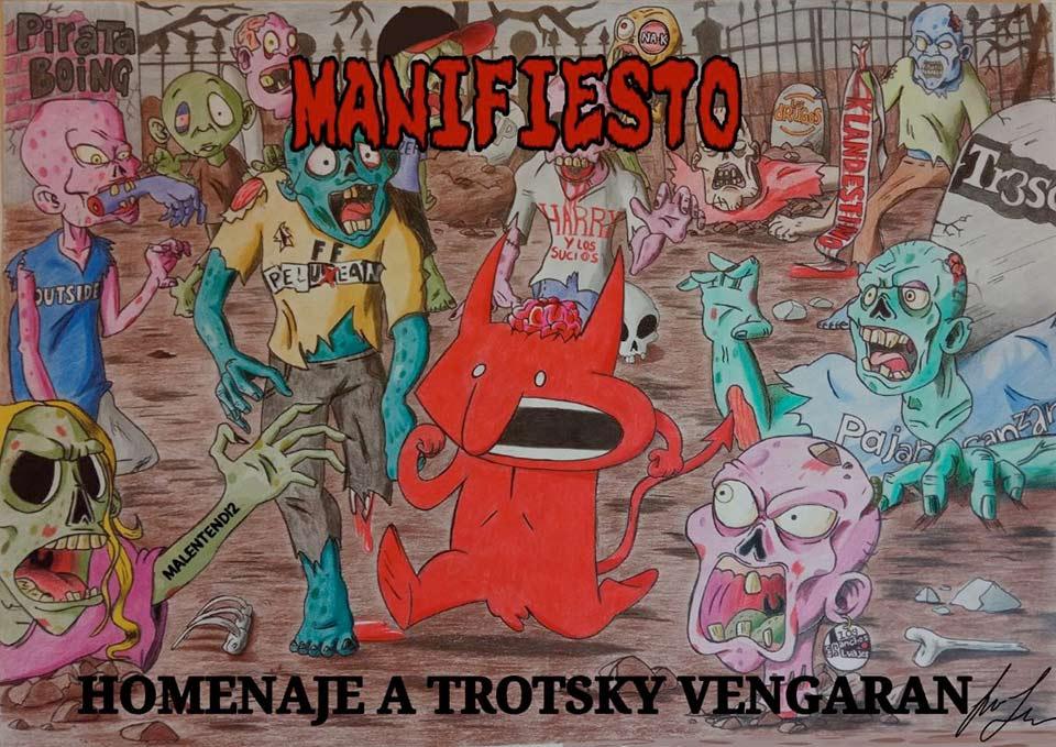 manifiesto - trotsky vengaran
