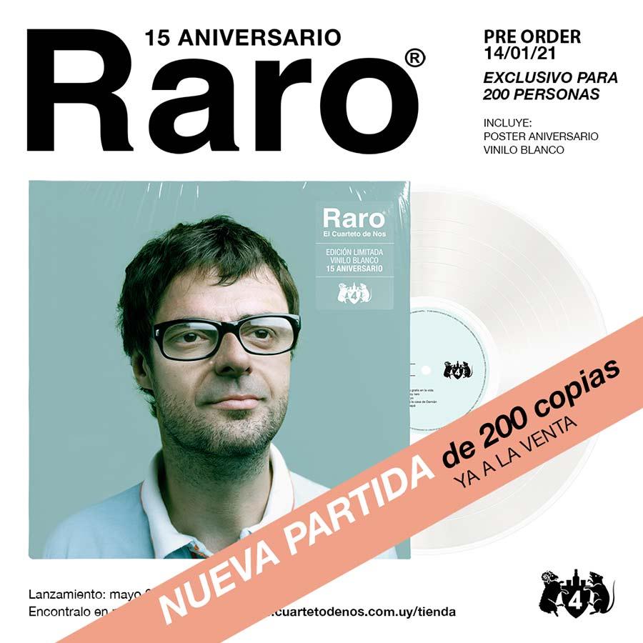 Cuarteto de Nos - RARO 15 ANIVERSARIO