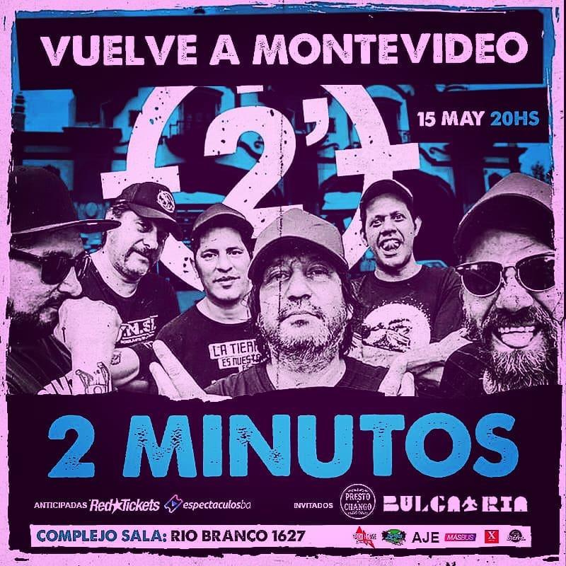 2 minutos - afiche
