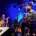 Guillermo Wood en Patio del Museo,abriendo el show de Spuntone & Mendaro. Guitarra acústica Marcos Alejandro. 26.02.21 Fotos Claudia Rivero www.cooltivarte.com