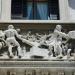 escultura fachada en palacio legislativo montevideo uruguay foto federico meneses octubre 2009