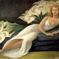 Retrato de Natasha Gelman 1943 - Diego Rivera