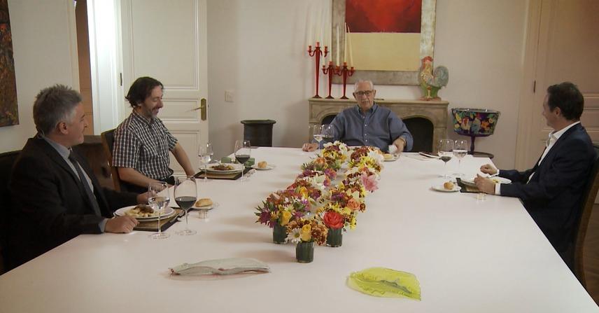 Sergio Puglia compartió la mesa con Pablo Romero García