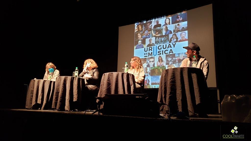 conferencia de prensa uruguay es musica junio 2021 foto claudia rivero