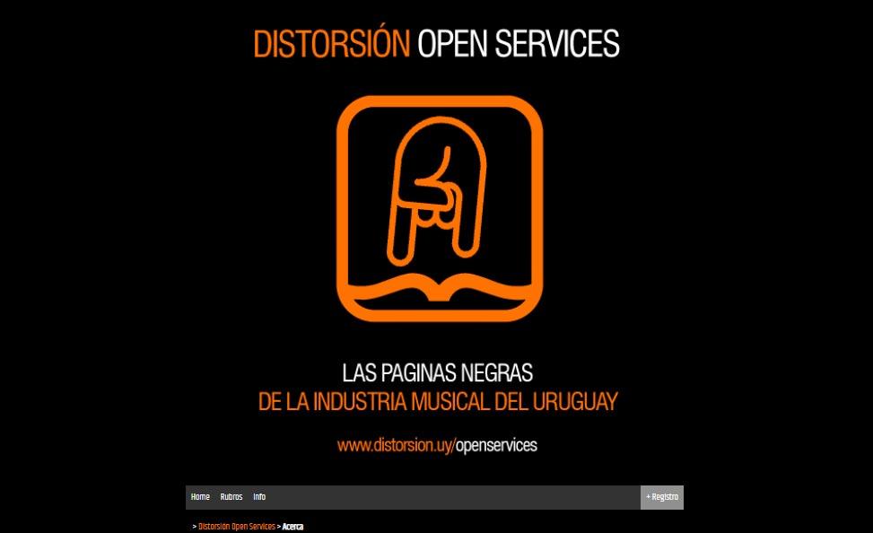 Páginas negras de la Industria Musical del Uruguay