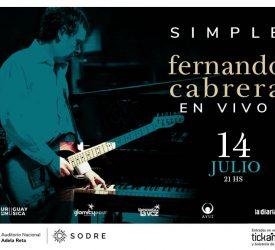 SIMPLE es lo nuevo de FERNANDO CABRERA