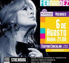 Acústicas - Cristina Fernández en el Teatro Circular