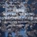 25 DE AGOSTO - MATERIAL THINKING - CHINA - URUGUAY Exposición on-line. 54 artistas de China y Uruguay Academy of Arts and Design, Tsinghua University