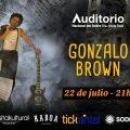 Gonzalo Brown presenta su nuevo trabajo ¨Especial Dedicación¨