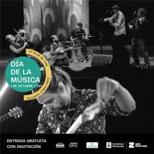 El Club De Tobi y Juan Pablo Chapital en el día de la música