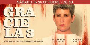 GRACIELA 3 | Sábado 16 de Oct. Nelly Goitiño. Sodre | Difusión