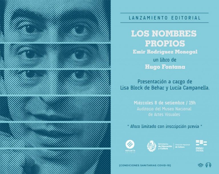 Los nombres propios - Emir Rodríguez Monegal - Hugo Fontana
