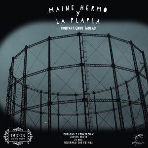 Maine Hermo y La plapla juntas por primera vez en el escenario. Será el 28 de octubre en DUCON (Durazno y convención).