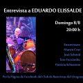 """ENTREVISTAS DEL CLUB entrevistamos a Eduardo """"Chancha"""" Elissalde, referente de la batería uruguaya y gran docente."""