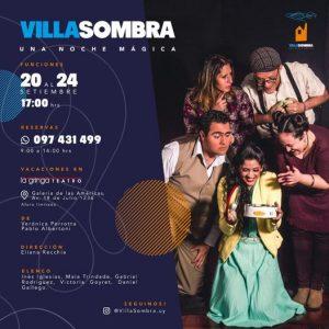 """VILLA SOMBRA """"una noche mágica"""" En vacaciones de Setiembre"""