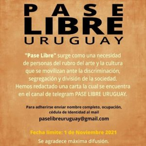 PASE LIBRE URUGUAY
