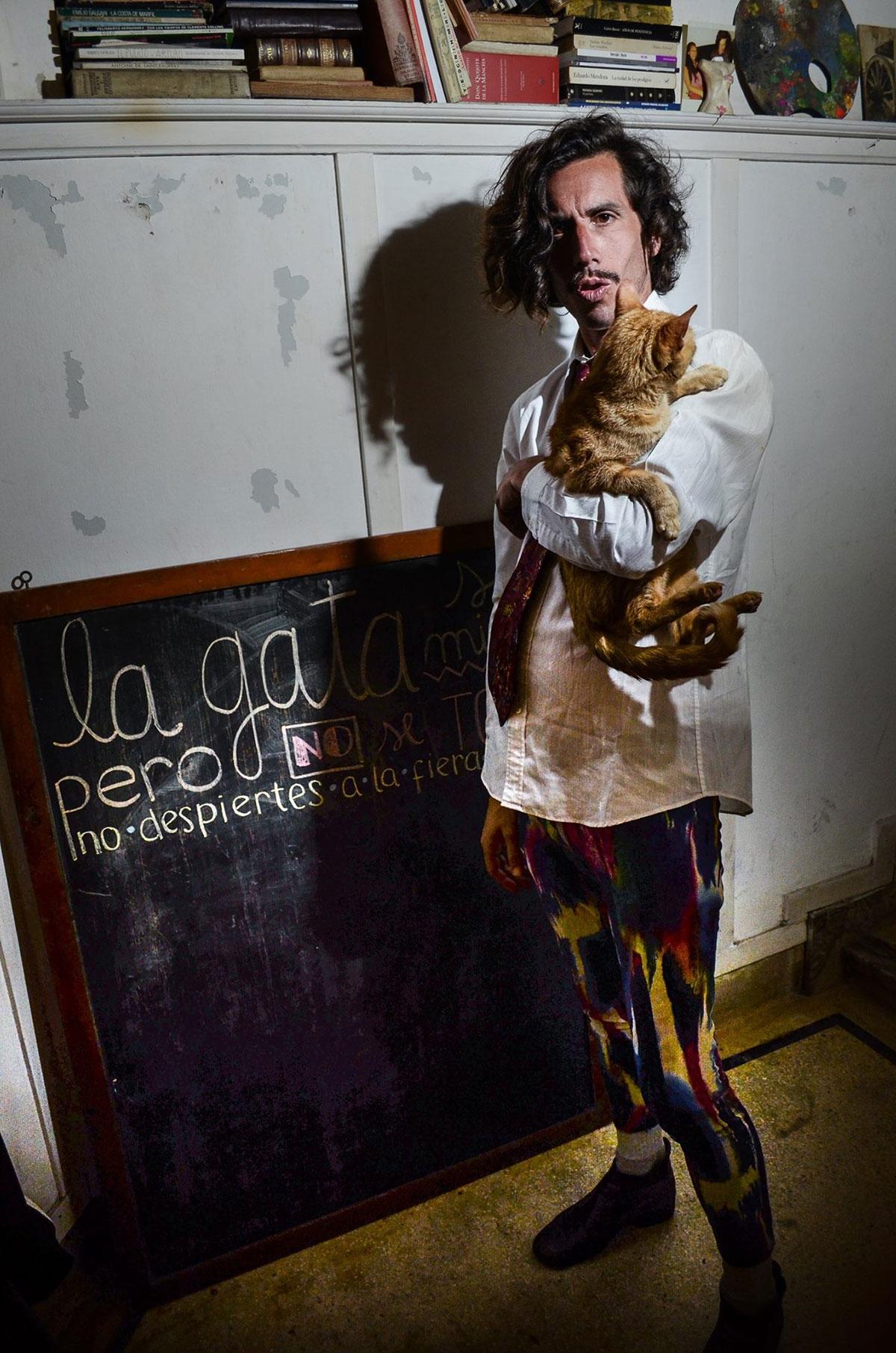 Fotorreportaje a Martín Barea Mattos - Diciembre 2017 - Foto Paola Scagliotti www.cooltivarte.com